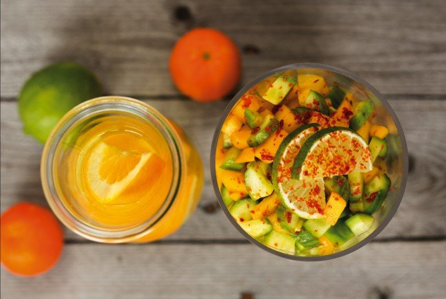 Rohkost ist nicht nur gesund, es sorgt auch für mehr Abwechslung im Speiseplan.