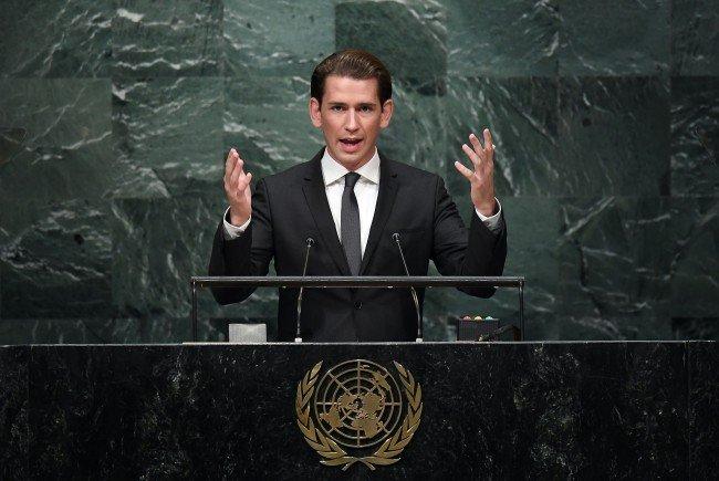 Außenminister Kurz zur Flüchtlingskrise