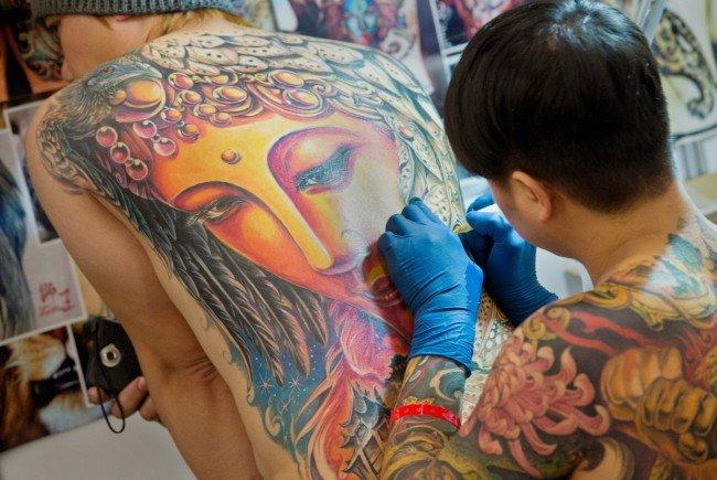 Am 05. und 06. November wird das Arcotel Wimberger wieder zum Schauplatz der Tattoo Convention