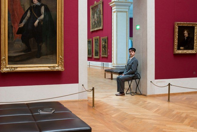 """The Invisible Show"" am Dachboden des Wiener Museumsquartiers."