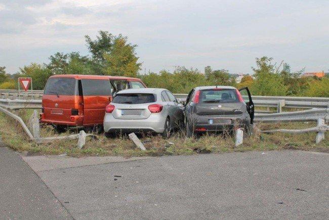 Der Unfall ereignete sich auf der A2 bei Wöllersdorf.