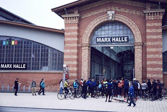 Bei der Wiener Fahrradschau