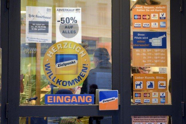 Ein dreimonatiger Testlauf in Wien soll zeigen, ob die Zielpunkt-Marke eine Zukunft hat