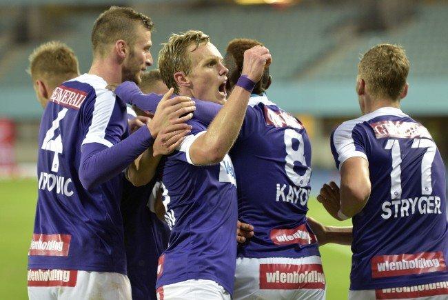 Die Wiener Austria muss im Cup gegen den Bundesliga-Schreck ASK Ebreichsdorf ran.