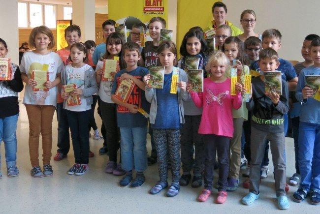 Wiens Volksschüler freuen sich über die Initiative.