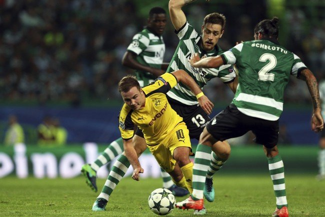 Der BVB empfängt Sporting Lissabon am Mittwochabend im Signal-Iduna-Park.