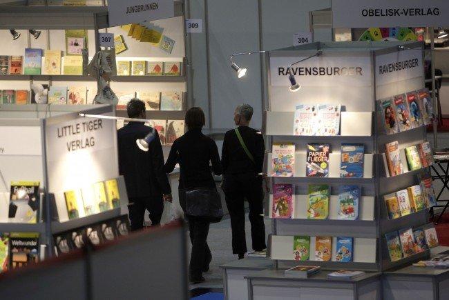"""Alle Jahre wieder ein Besuchermagnet: die Buchmesse """"Buch Wien"""""""