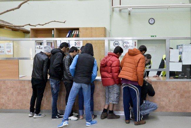 Integrationsmaßnahme für Flüchtlinge.