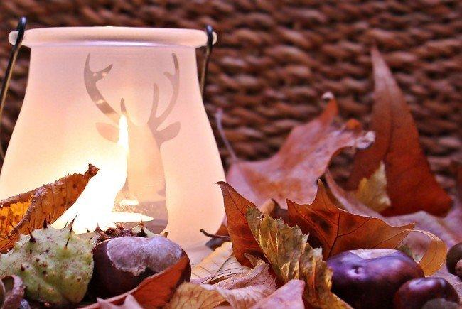 Wunderschöne Herbst-Dekoration lässt sich oft sehr einfach selbst basteln.