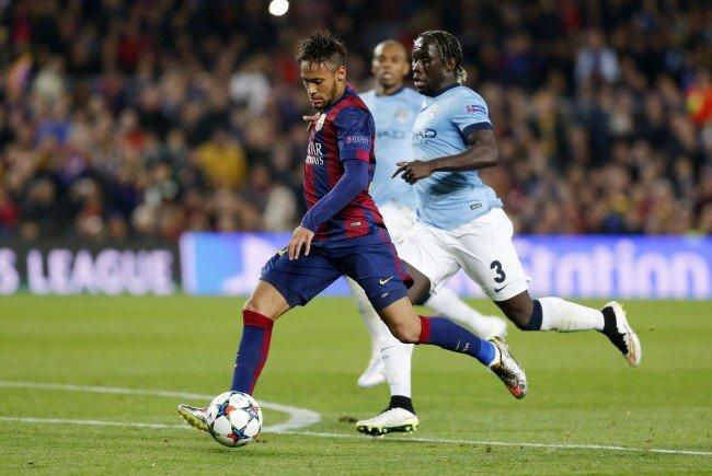 Barcelona und ManCity stehen sich im Camp Nou gegenüber.