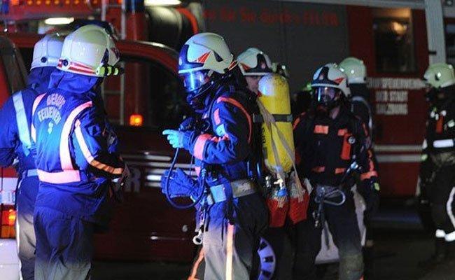 Brandeinsatz in Wien-Döbling.