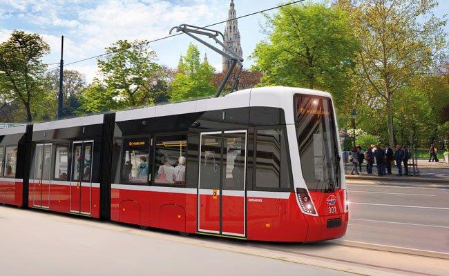"""Die neuen """"Flexity""""-Bims sollen ab Ende 2018 in Wien zum Einsatz kommen."""