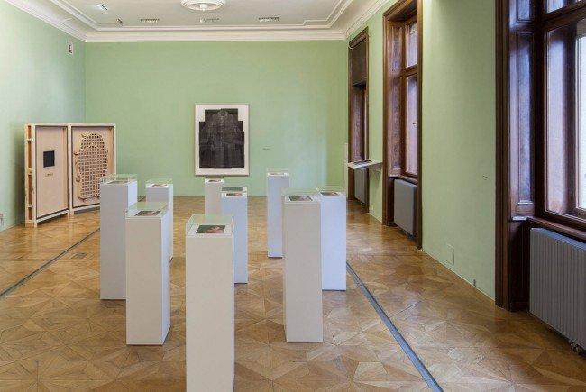 Bei der Ausstellung im Sigmund Freud Museum