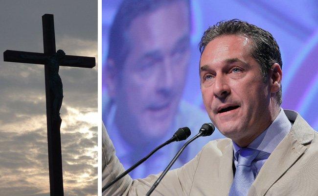 Die FPÖ und das Kreuz - eine historisch ambivalente Beziehung.