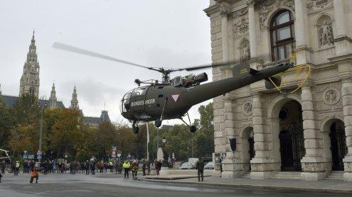 Bundesheer-Aktivitäten rund um den Nationalfeiertag in Wien