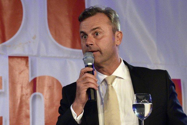 Bundespräsidentschaftskanditat der FPÖ Norbert Hofer äußerte sich zur EU-Berichterstattung