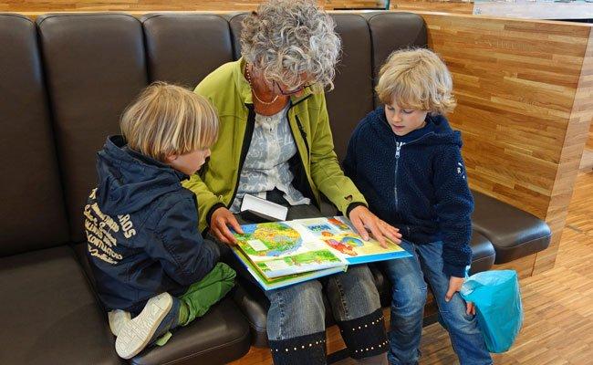 Gesucht werden Ehrenamtliche, die mit Kindern lesen wollen
