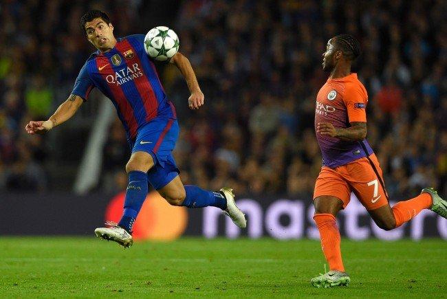 Manchester City und Barcelona stehen sich im Etihad Stadium gegenüber.