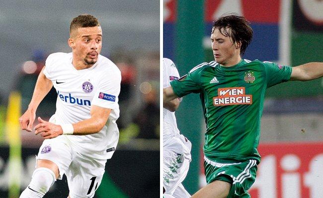 Die Austria und Rapid sind am Nationalfeiertag im Cup-Einsatz.