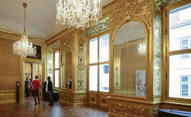 Im Winterpalais wird wieder der Geburtstag von Prinz Eugen gefeiert.
