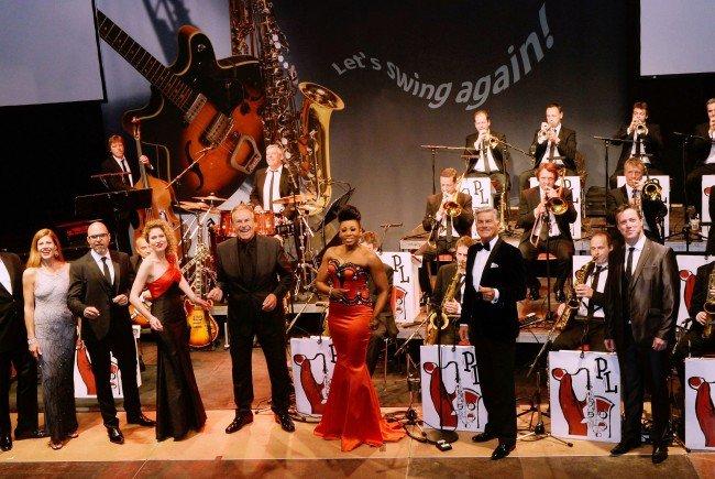 Die Pepe Lienhard Big Band gastiert in Wien