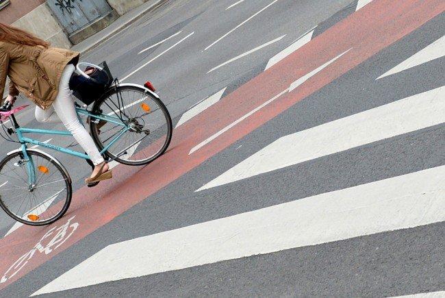 Die Radfahrerin wurde leicht verletzt.