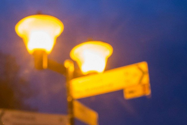 Die Wiener Straßenbeleuchtung wird schon eine Stunde früher abgedunkelt.