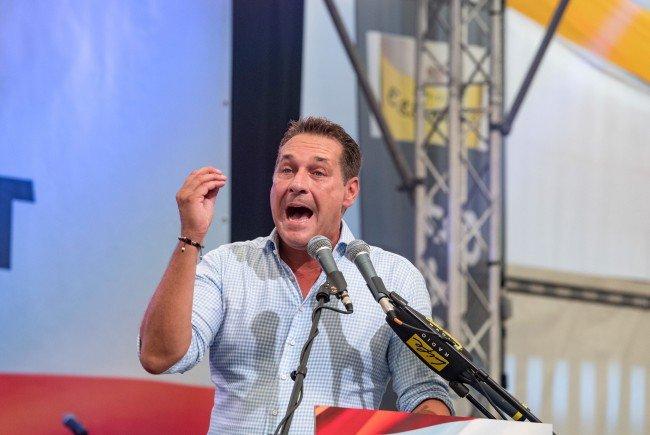 FPÖ-Obmann Heinz-Christian Strache meldete sich gegen IGGiÖ-Präsident Ibrahim Olgun zu Wort