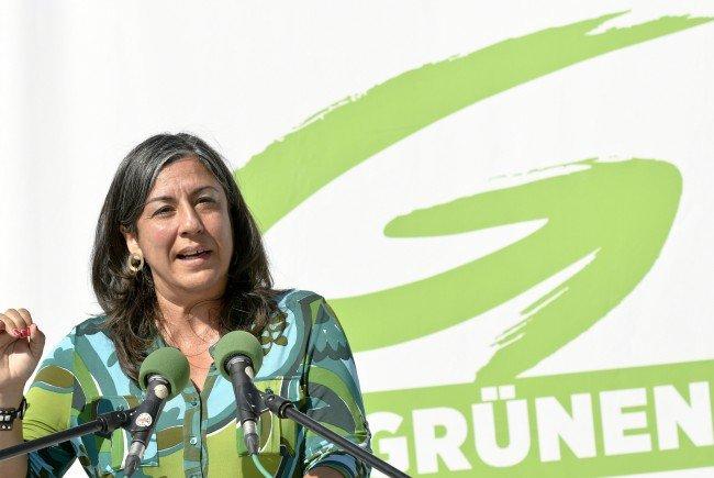 Vizebgm. Maria Vassilakou sprach bei einem Pressetermin über die Arbeit der Leerstandsagentur