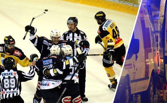 Fans des VSV werden verdächtigt, den Böller geworfen zu haben.