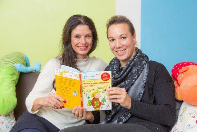 Sonja Klima, Präsidentin der Ronald McDonald Kinderhilfe, (l.) und Karin Dopplinger, eine ehrenamtliche Mitarbeiterin im Kinderhilfe Haus in Wien