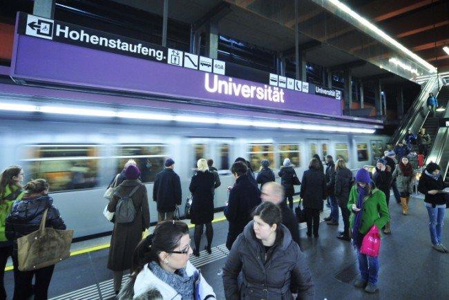 Auf der Linie U2 kam es am Mittwoch im Frühverkehr zu Verzögerungen.