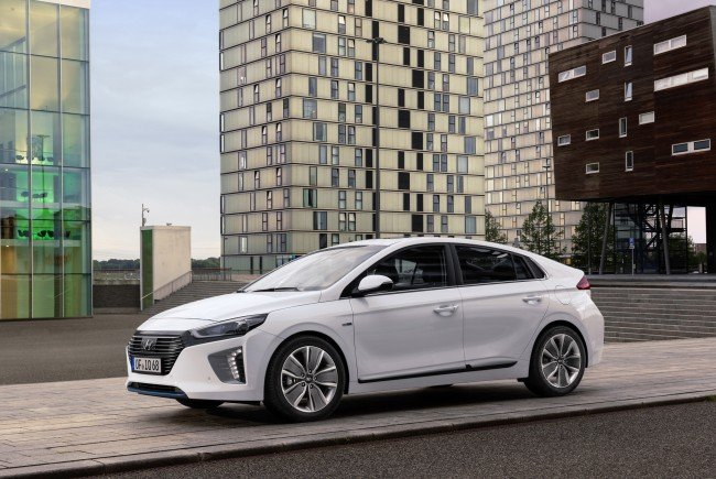 Der neue Hyundai Ioniq Hybrid.