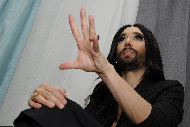 Conchita Wurst wird für Alexander Van der Bellen stimmen.
