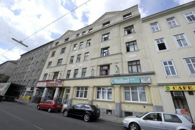 In einer Wohnung in der Hannovergasse in Wien-Brigittenau ereignete sich die Bluttat.