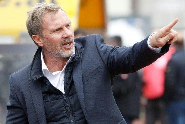AUstria-Trainer Thorsten Fink.