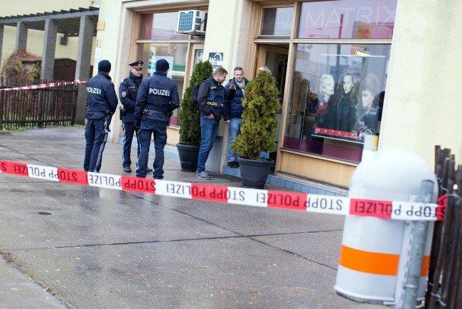 In diesem Wiener Friseursalon wurde der Mann erschossen.