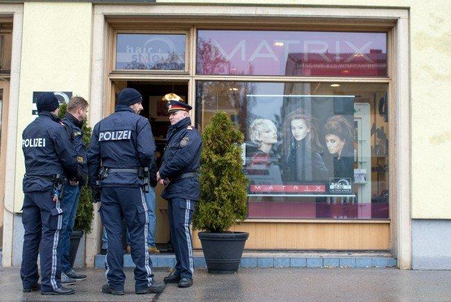 In diesem Friseursalon in Wien-Meidling wurde der Mann angeschossen.