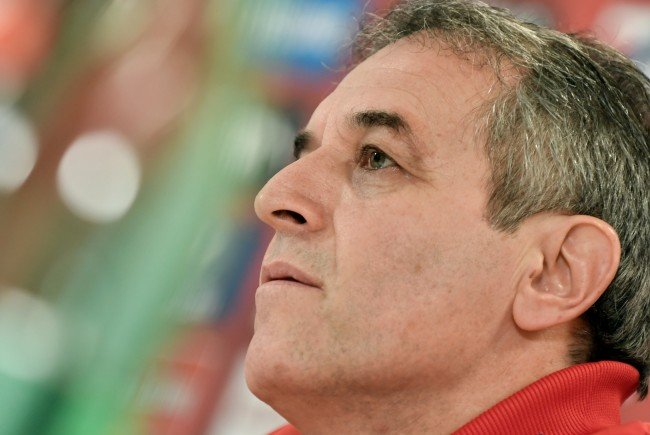ÖFB-Teamchef Marcel Koller hofft auf einen Sieg gegen die Slowakei.