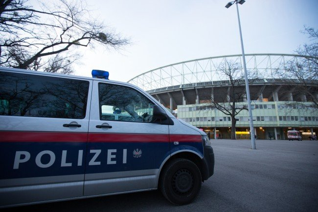 Vor dem Europa League-Match zwischen Austria Wien und AS Roma kam es zu Festnahmen.