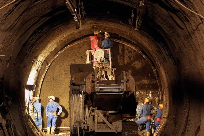 Der Semmering-Basistunnel darf weiter gebaut werden.