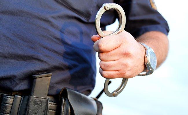 Die Polizei nahm den Tatverdächtigen fest.