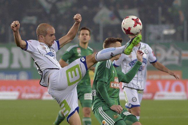 Rapid verliert auch gegen Sturm Graz und versinkt im Niemandsland der Tabelle.