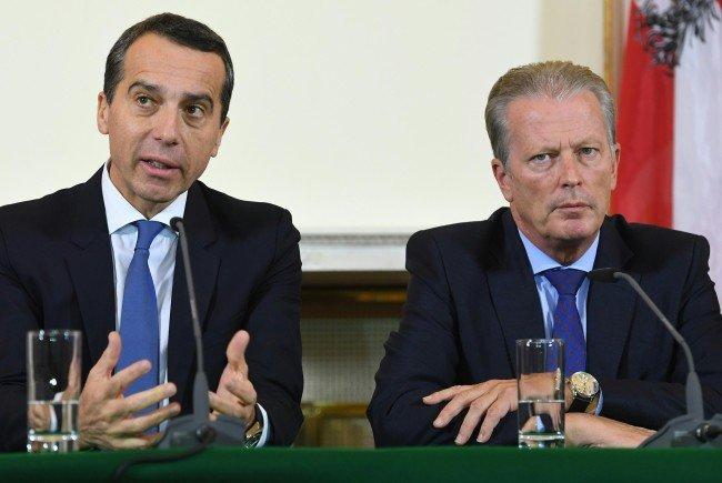 Österreichs Regierungsspitze will die Verhandlungen abbrechen.