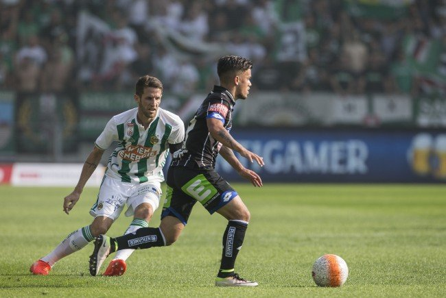 LIVE-Ticker zum Spiel Rapid Wien gegen Sturm Graz ab 16.30 Uhr.