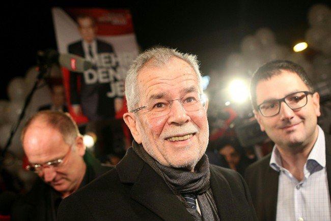 """Van der Bellen setzt auf """"I Am From Austria"""" - mit Zustimmung Rainhard Fendrichs"""