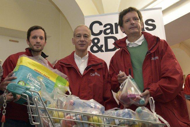 Die Caritas startet in Wien die ihre Winterhilfe.