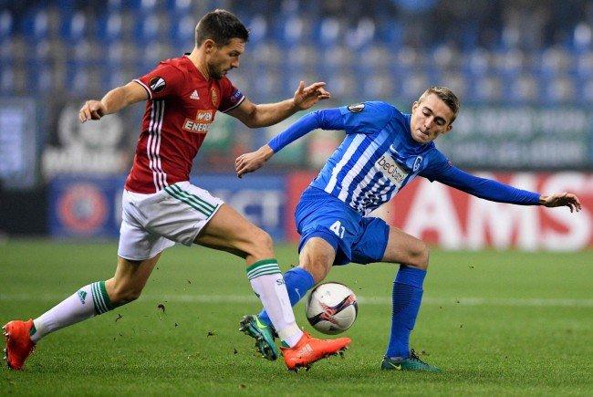 Europa League-Aus: Rapid Wien scheitert mit einem 0:1 in Genk.