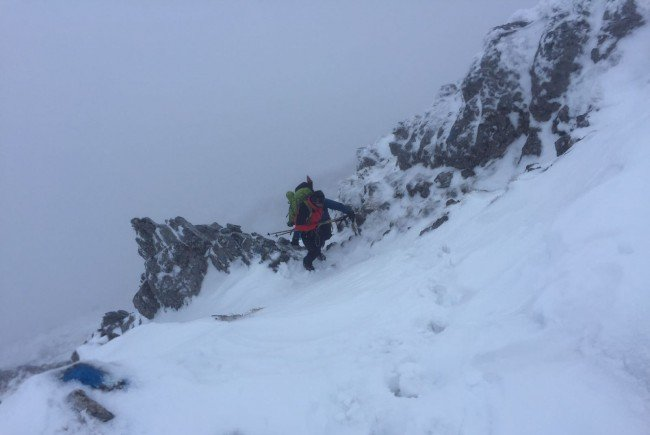 Der Wiener Bergsteiger konnte unverletzt geborgen werden