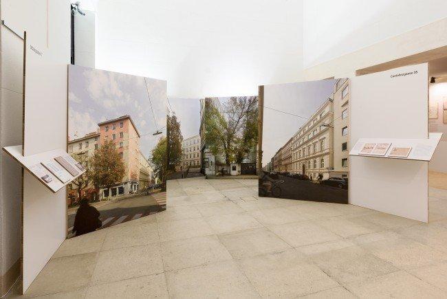 """Ausstellung """"Letzte Orte vor der Deportation"""" in Wien"""